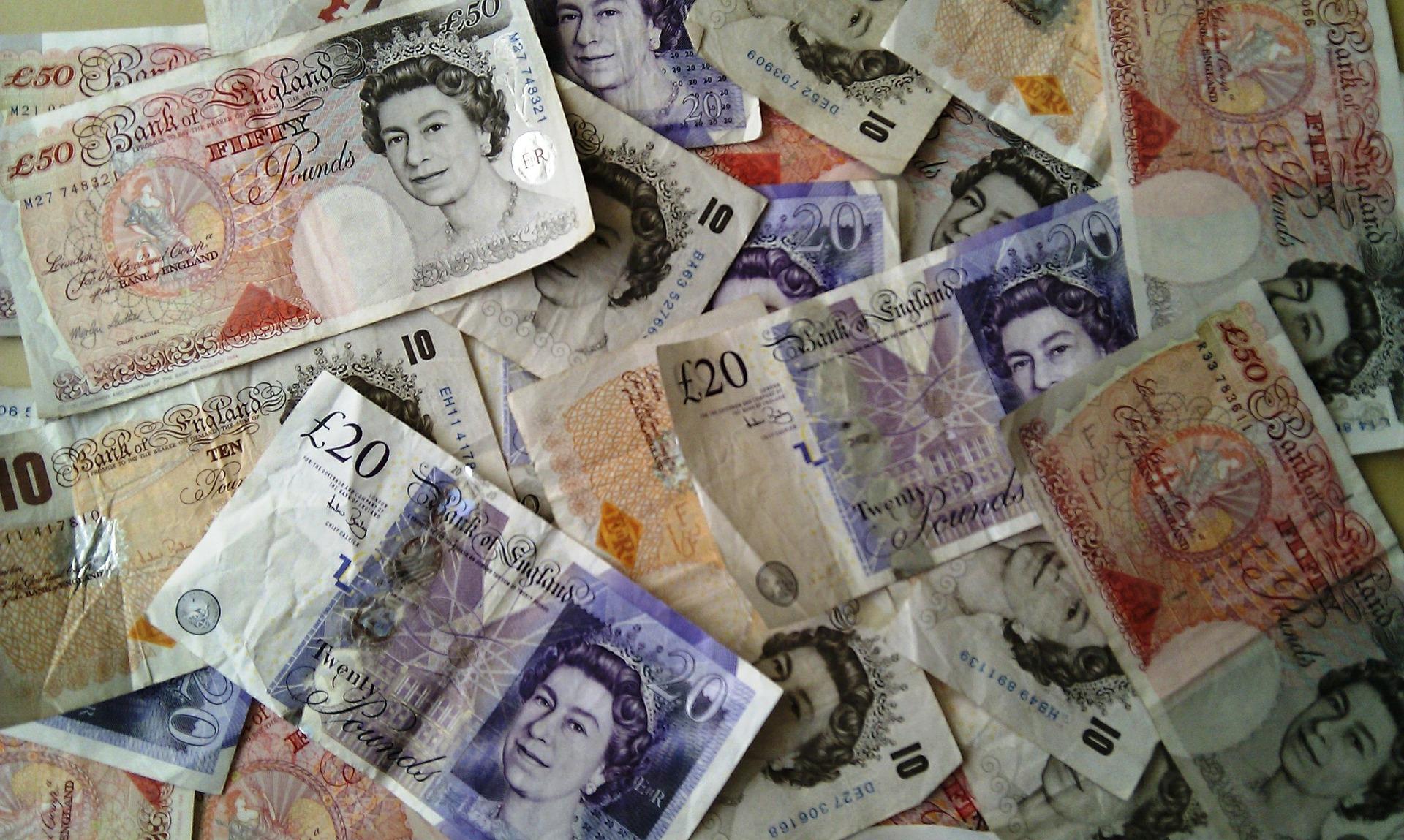 Billetes de libras